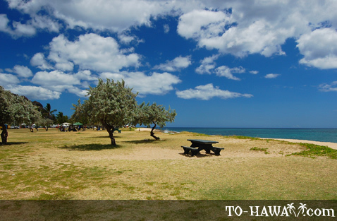 Park on Oahu's leeward coast