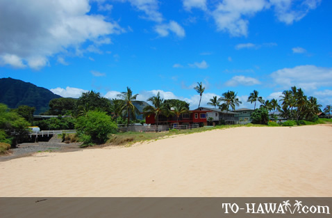 Makaha beachfront homes