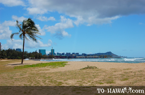 View to Waikiki and Diamond Head