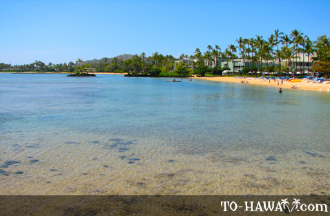 View to Kahala Beach