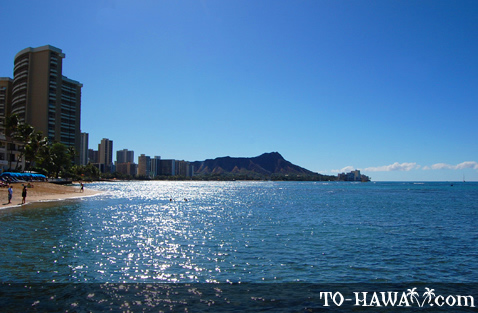 Looking towards Diamond Head