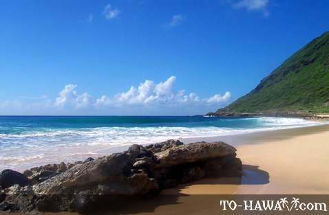 Oahu's west shore