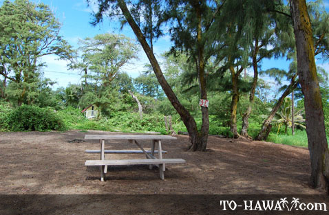 Oahu Camping Malaekahana Beach Campground To Hawaii Com