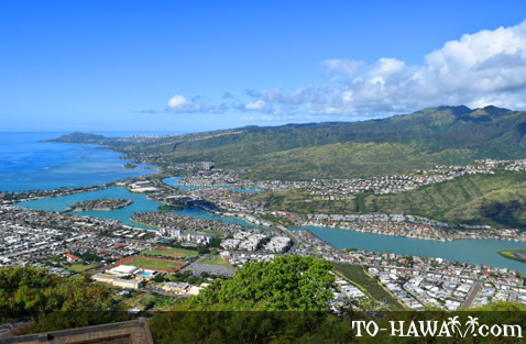 Hawaii Kai aerial
