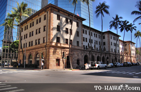 Historic building in Honolulu