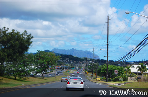 Driving in Kane'ohe