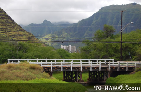 Bridge in Makaha
