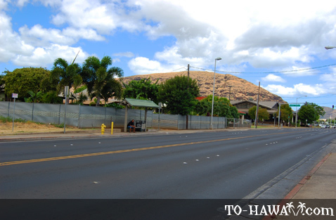 Farrington Highway in Wai'anae