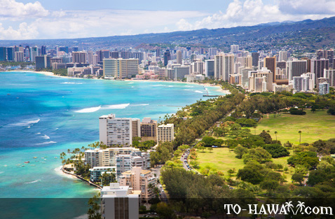 View from Diamond Head Lookout