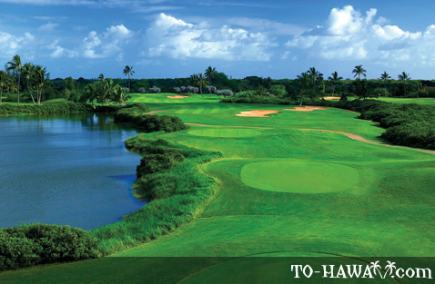 Hawaii Prince Golf Club on Oahu