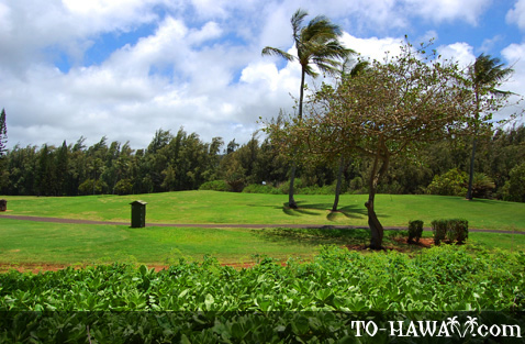 Turtle Bay Golf Course on Oahu