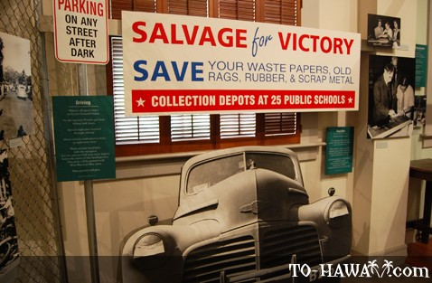 Hawaii Under Martial Law exhibit