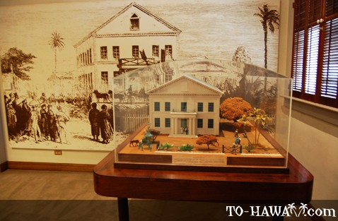 Honolulu Old Courthouse Circa 1852