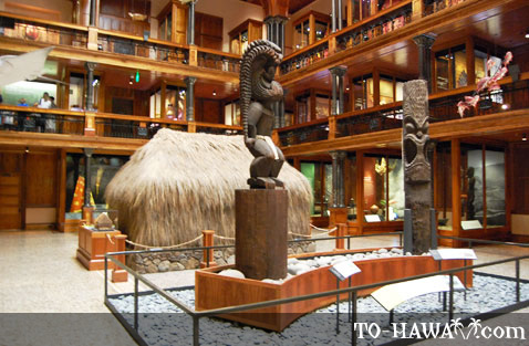 Hawaiian Hall exhibits