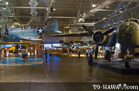 Pacific Aviation Museum in Honolulu