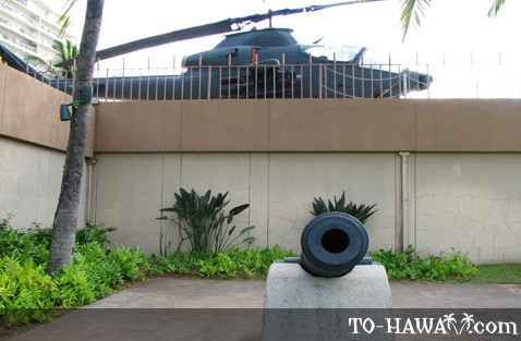 War exhibits in Waikiki