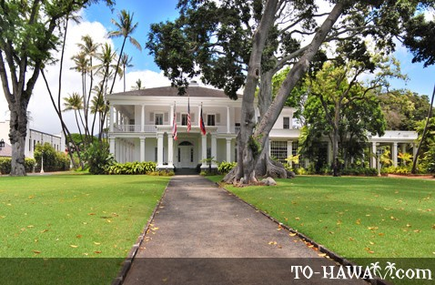Washington Place Honolulu Tours