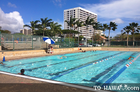 Swimming pool in Honolulu