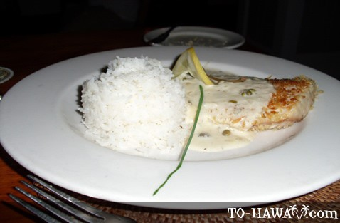 Parmesan Crusted Opah