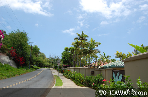 Diamond Head Road on Oahu