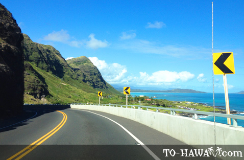Scenic Oahu view