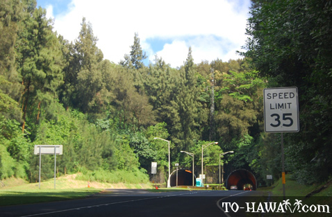 Pali Highway Tunnels
