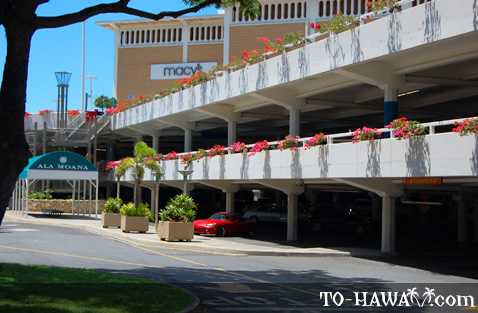 Ala Moana Shopping Center parking lot