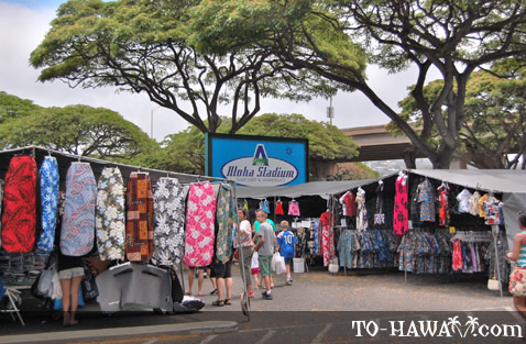 Aloha shirts and dresses