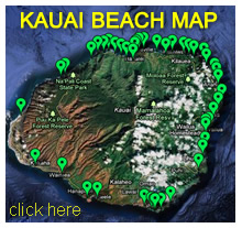 Kauai Beach Map