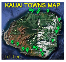 Kauai Cities Map
