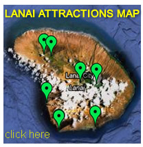 Lanai Attractions Map