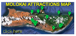 Molokai Attractions Map