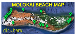 Molokai Beach Map