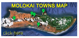 Molokai Cities Map