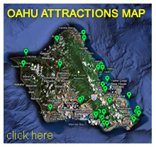 Oahu Attractions Map