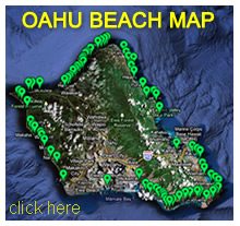 Oahu Beach Map